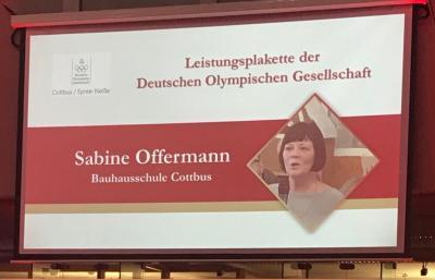 Vorschaubild zur Meldung: Hohe Auszeichnung für Frau Offermann