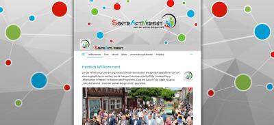 Neue Webseite von SontrAktiVereint