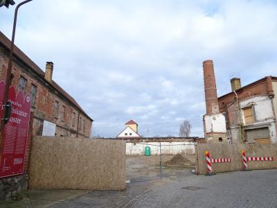 Vorbereitende Arbeiten für die Baumaßnahmen im Klosterviertel schreiten gut voran