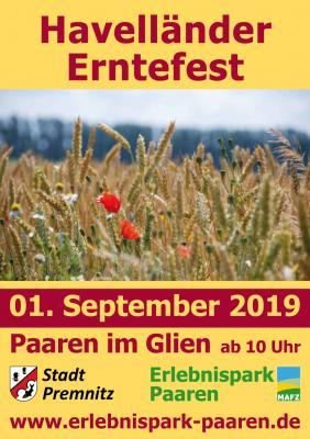 Foto zur Meldung: 11. Havelländer Erntefest