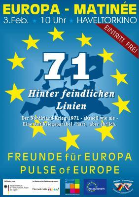 Freunde für Europa - Plakat