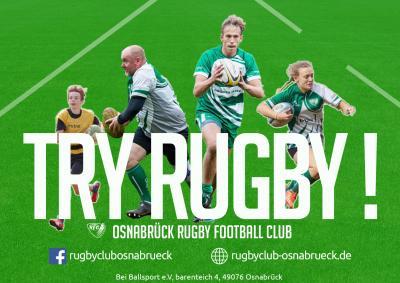 Vorschaubild zur Meldung: Rugby Try it!