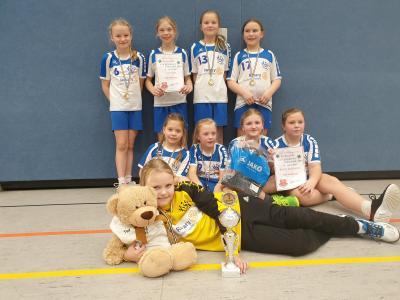 Foto zur Meldung: Handball-Nachwuchs:  Falkenseer E- Jugend startet ins Handballjahr 2019