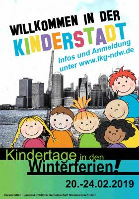 Kindertage in der LKG