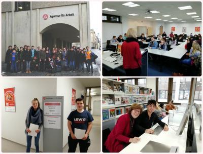 Foto zur Meldung: Besuch im BIZ Passau