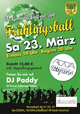 Foto zur Meldung: Frühlingsball 2019