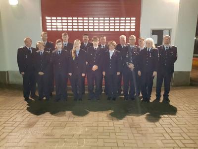 Foto zu Meldung: Jahresbericht der Freiwilligen Feuerwehr Zinndorf
