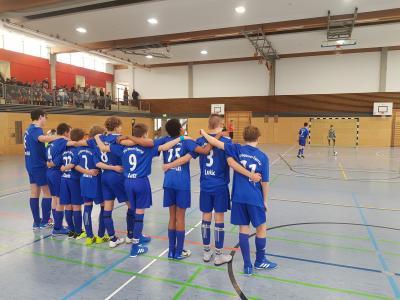 Foto zur Meldung: C-Junioren Hallenbezirksmeisterschaft in Speichersdorf!