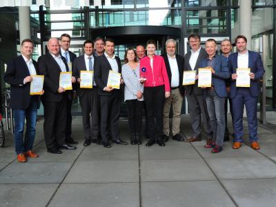 Foto zur Meldung: Spar-Euro-Auszeichnung für interkommunale Zusammenarbeit im Kreis Groß-Gerau