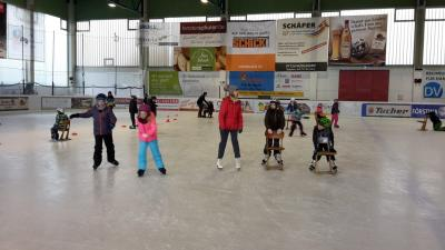 Foto zur Meldung: Eislaufen der Grundschulkinder