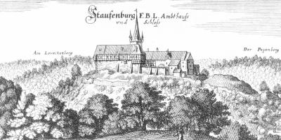 Vorschaubild zur Meldung: Raubritternest, Lustschloss und Staatsgefängnis - Frauen aus Gandersheim und ihre Geschichte(n) auf der Stauffenburg