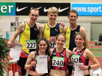 Foto zur Meldung: Sechs LAZ-Medaillen bei NRW-Titelkämpfen