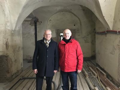 Foto zur Meldung: Letzte Amtshandlung in Wächtersbach