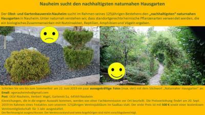 Foto zur Meldung: Nachhaltigster naturnaher Hausgarten gesucht!