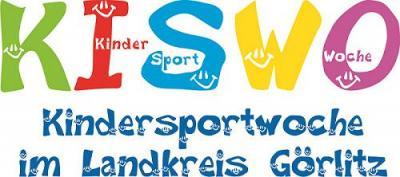 Kindersportwoche im Landkreis Görlitz - Logo