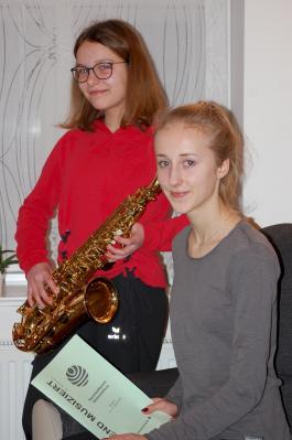 Foto zur Meldung: Erste Preise für Ludwigsluster Musikschülerinnen