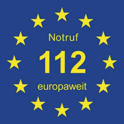 Vorschaubild zur Meldung: Europaweiter NOTRUF 112