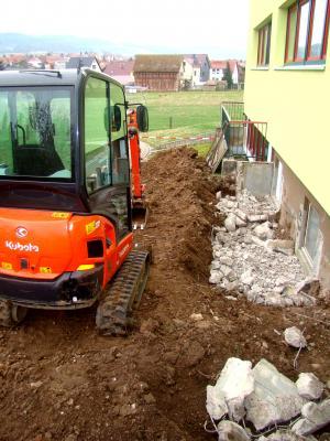 Vorschaubild zur Meldung: Bauarbeiten am Kindergarten