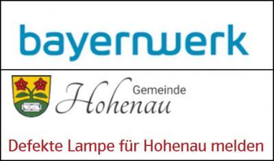 Foto zu Meldung: Neues Mängelmeldungstool des Bayernwerk für defekte Straßenlaternen