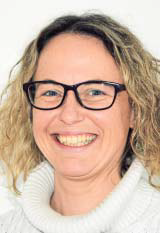 Frau Jennifer Schmidt neue Chefin des Ravensberger Jugendbildungshauses. FOTO: DETLEF HANS SEROWY