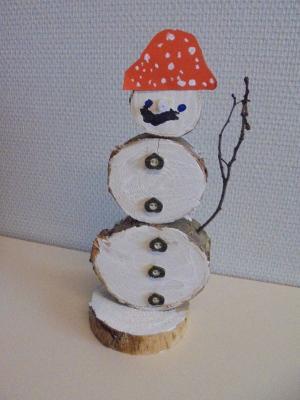 Vorschaubild zur Meldung: Herstellen eines Schneemanns