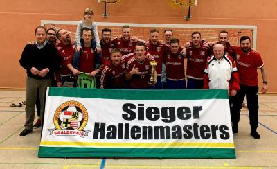 Sieger Hallenmasters Herren 18/19 // SG B.-W. 1921 Brachstedt
