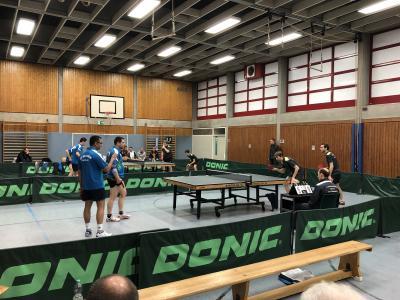 Vorschaubild zur Meldung: Tischtennis Herren I gewinnen Spitzenspiel mit 9:5