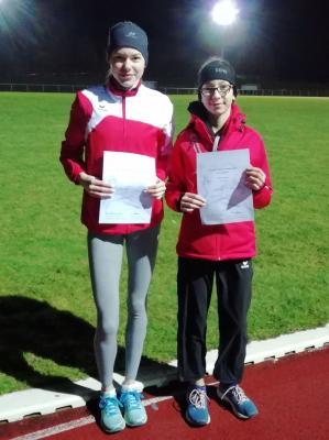 Lena Morig und Milena Riehn (Foto: T. Just)