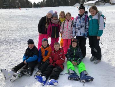 Foto zur Meldung: Kreisfinale Ski Alpin