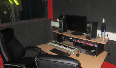 Am 15. Februar findet der Auftakt für den Tonstudio-Workshop im Kinderclub und Bonis Treff im Brüder-Schönfeld-Haus statt. Foto: Tonstudio, Stadt Maintal