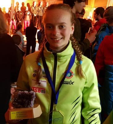 Foto zur Meldung: Cindy gewinnt zweimal Gold in Kandersteg