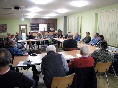 Vorschaubild zur Meldung: Diskussionstreffen mit Hans-Georg von der Marwitz