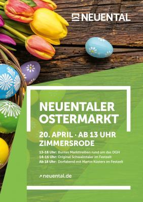 Vorschaubild zur Meldung: Neuentaler Ostermarkt am 20.04.2019