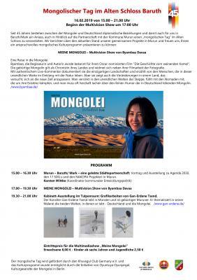 Mongolischer Tag