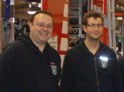 Kay Stieler (links) und Lasse Krüger