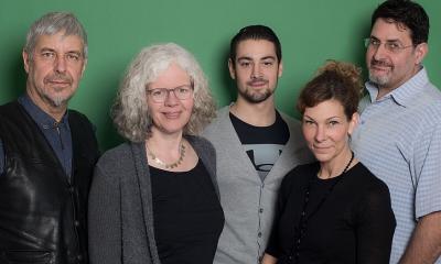 Ira Wirth-Widarzik, Julius Mack, Christine Spriestersbach, Paul Stegemann und Frank Tänzer. Foto: www.gruene-rhein-lahn.de