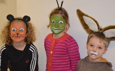 Foto zur Meldung: Wie schminke ich mich an Karneval??