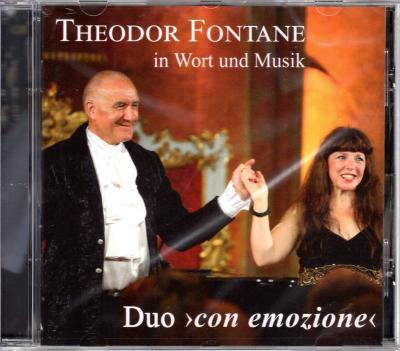 """Foto zur Meldung: CD """"Theodor Fontane in Wort und Musik"""" vom Duo >con emozione<"""