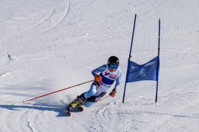 Christoph Frank bei seinem Goldlauf bei der Junioren-Weltmeisterschaft in Slowenien - Foto: DSV