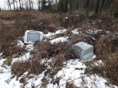 Foto zur Meldung: Illegale Müllablagerung