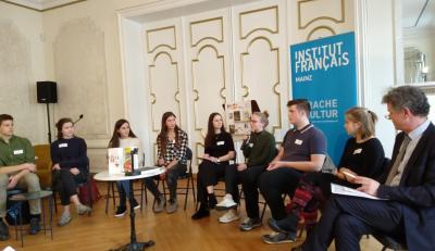 Foto zur Meldung: Prix des Lycéens allemands 2019 - Zweite Etappe