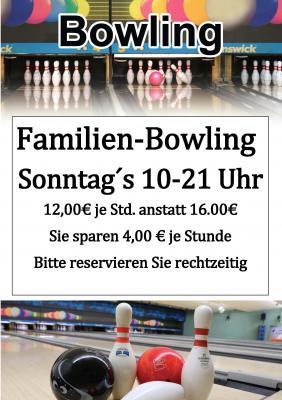 """Vorschaubild zur Meldung: Unser Frühlingsdeal """"Familienbowling am Sonntag"""" nur 12,00 €"""