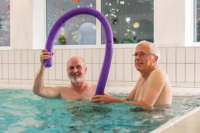 Vorschaubild zur Meldung: Wieder freie Plätze in der Reha Wassergymnastik