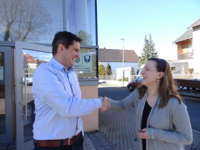 Foto zur Meldung: Jana Mattern ist die neue Gemeindeschwester in Nauheim