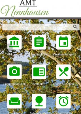 Vorschaubild zur Meldung: Website Amt Nennhausen jetzt auch für mobile Endgeräte
