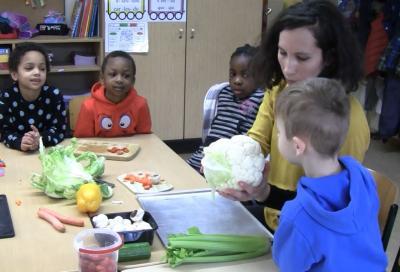 """Vorschaubild zur Meldung: Projekt """"Gesunde Ernährung"""" - Erste Klassen"""