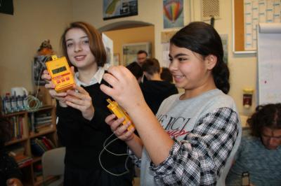 Vorschaubild zur Meldung: Energiedetektive ermitteln vor Ort: Stimmt die Temperatur im Klassenraum?