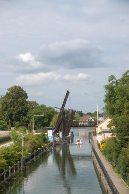 Die Zugbrücke über den Storkower Kanal, Foto: Jenny Jürgens