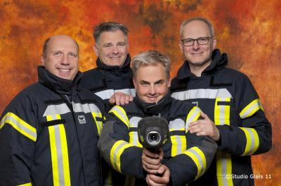 Das Organisationsteam v.l.: OrtsBM D.Behmer, stv. OrtsBM F.Schulz, C.Cohrs und C.Meyer (es fehlen: M.Rohr und M.Schwentke)