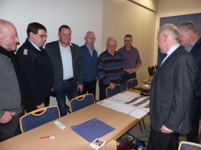 Vorschaubild zur Meldung: Mitgliederversammlung, Bürgermeister Andreas Kaiser stellt Neubaupläne vor